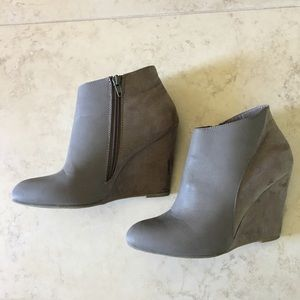 Madden Girl Gray Zumba Booties